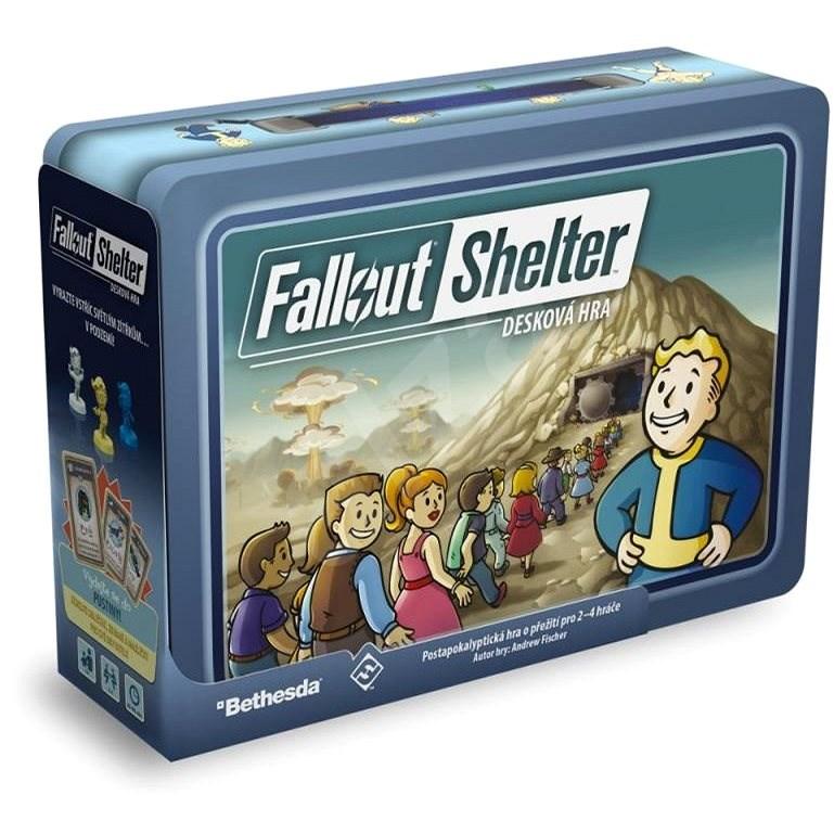 Fallout Shelter: desková hra - Desková hra