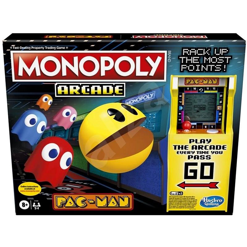 Monopoly Pacman ENG verze - Společenská hra