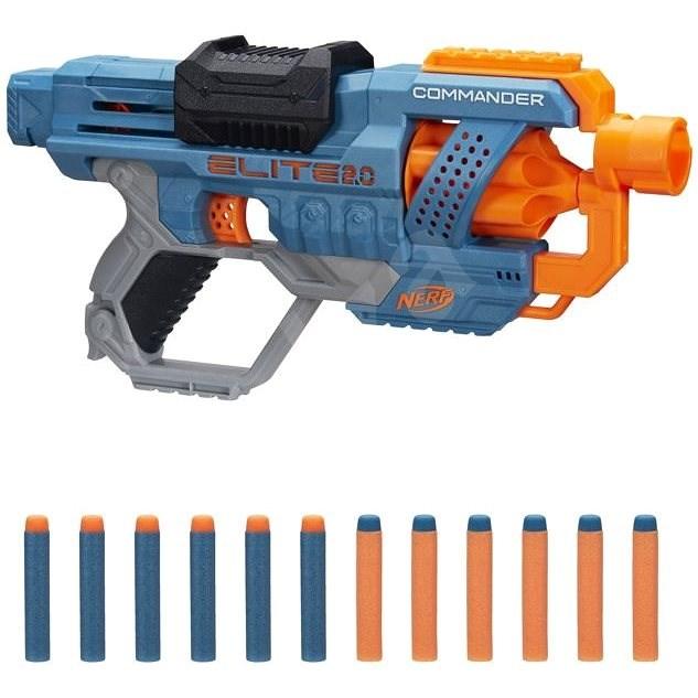 Nerf Elite 2.0 Commander RD-6 - Dětská pistole