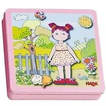 Haba Magnetická hra Panenka Lilly - Vzdělávací hračka
