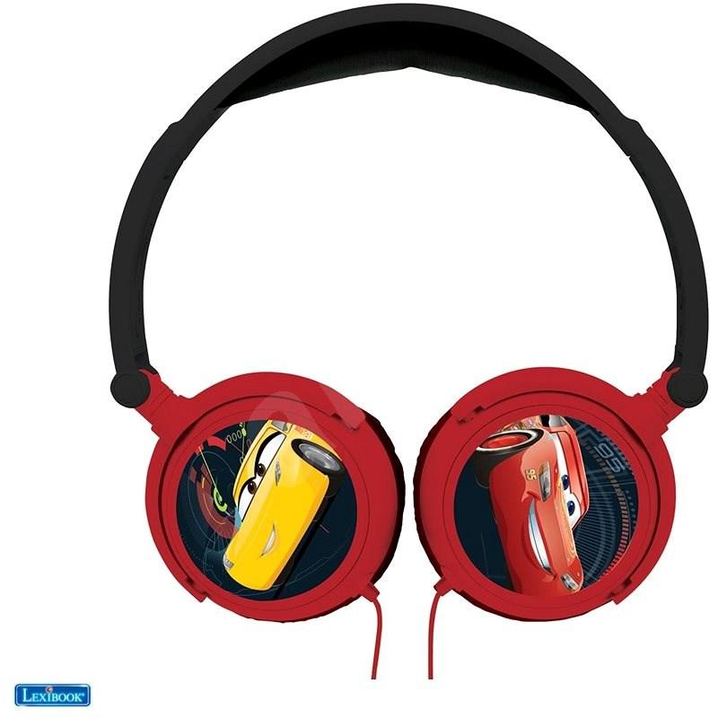 Lexibook Cars Sluchátka s bezpečnou hlasitostí pro děti  - Sluchátka