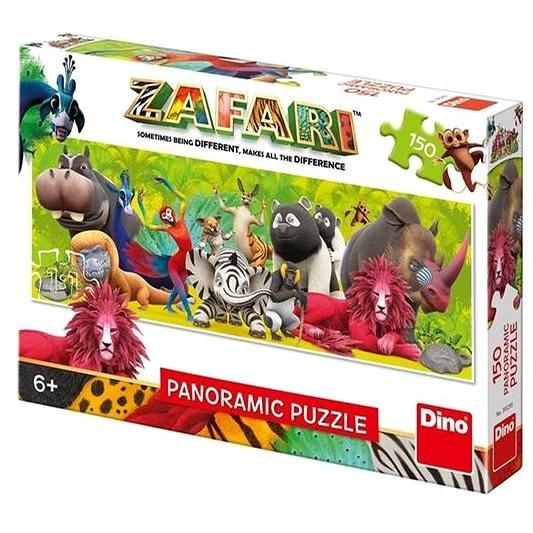 Zafari: Přátelství 150 Panoramic Puzzle Nové - Puzzle