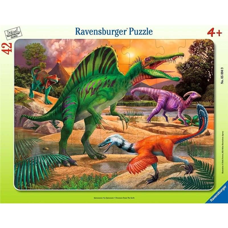 Ravensburger 050949 Dinosaurus 30-48 dílků - Puzzle