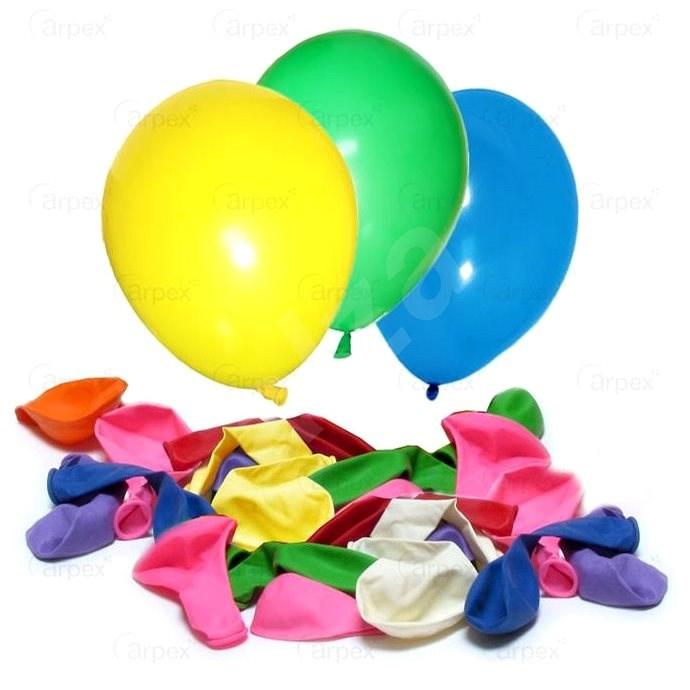 Balónky pastelové 25 ks v bal., 23 cm - Balonky