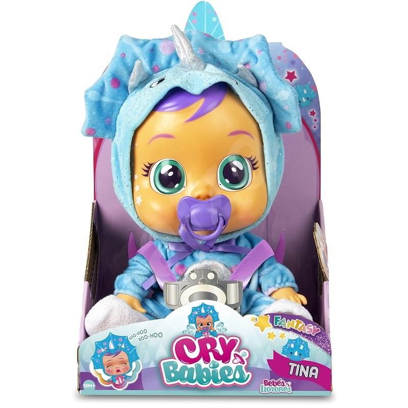 Cry Babies Interaktivní panenka Fantasy Tina - Panenka