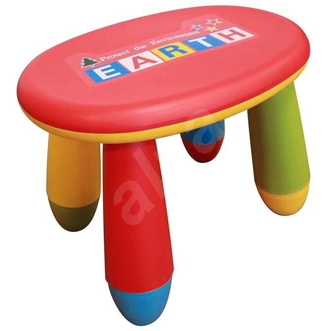 Dětská stolička v hravém barevném provedení - Dětská židle
