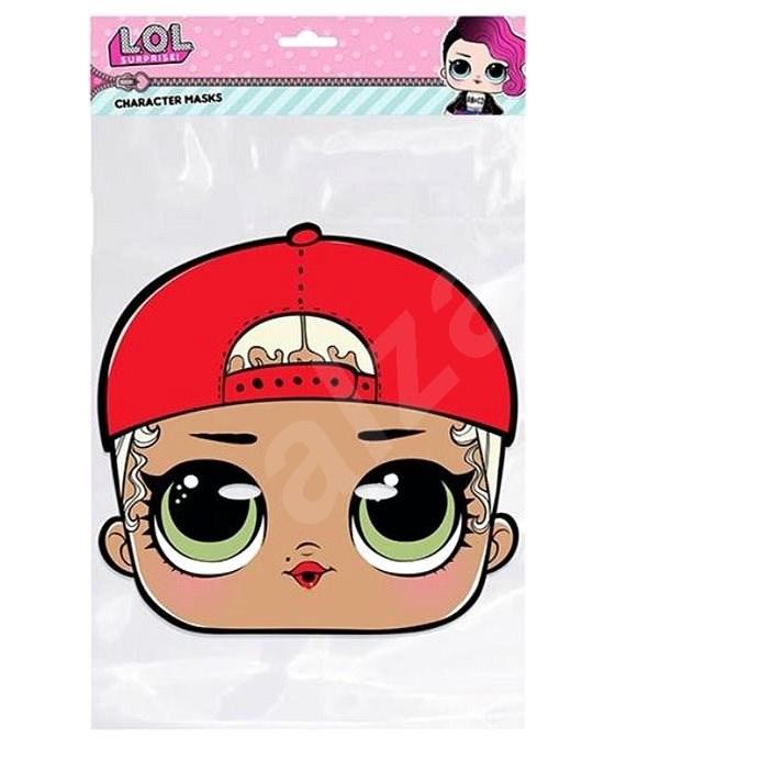 Papírová maska - LOL mc swag - Dětská maska
