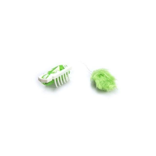 Hexbug Nano pro kočky - bílá/zelená - Mikrorobot