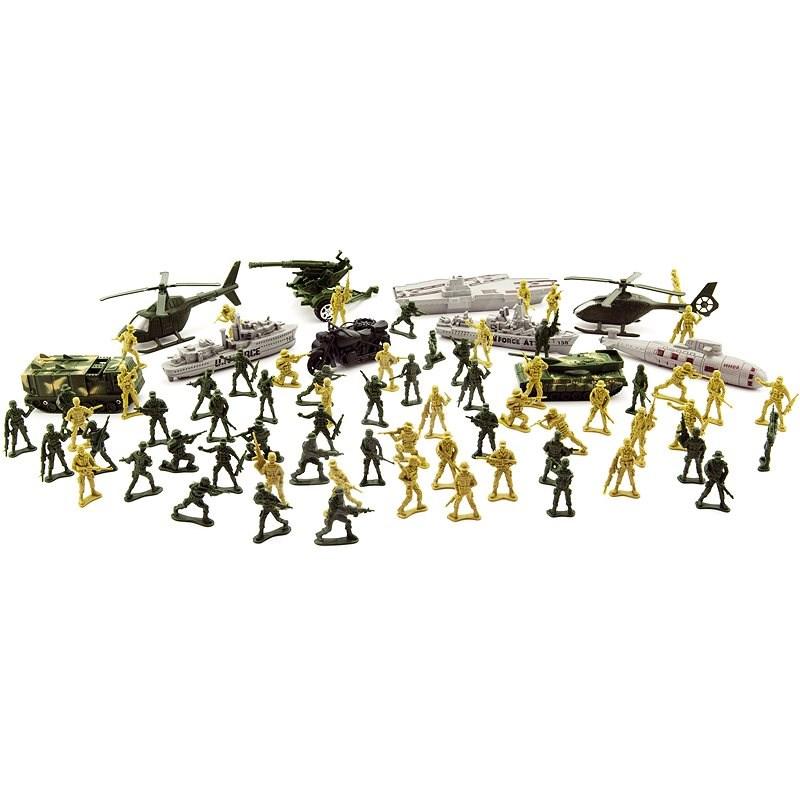 Teddies Sada vojáci s doplňky CZ design - Figurky