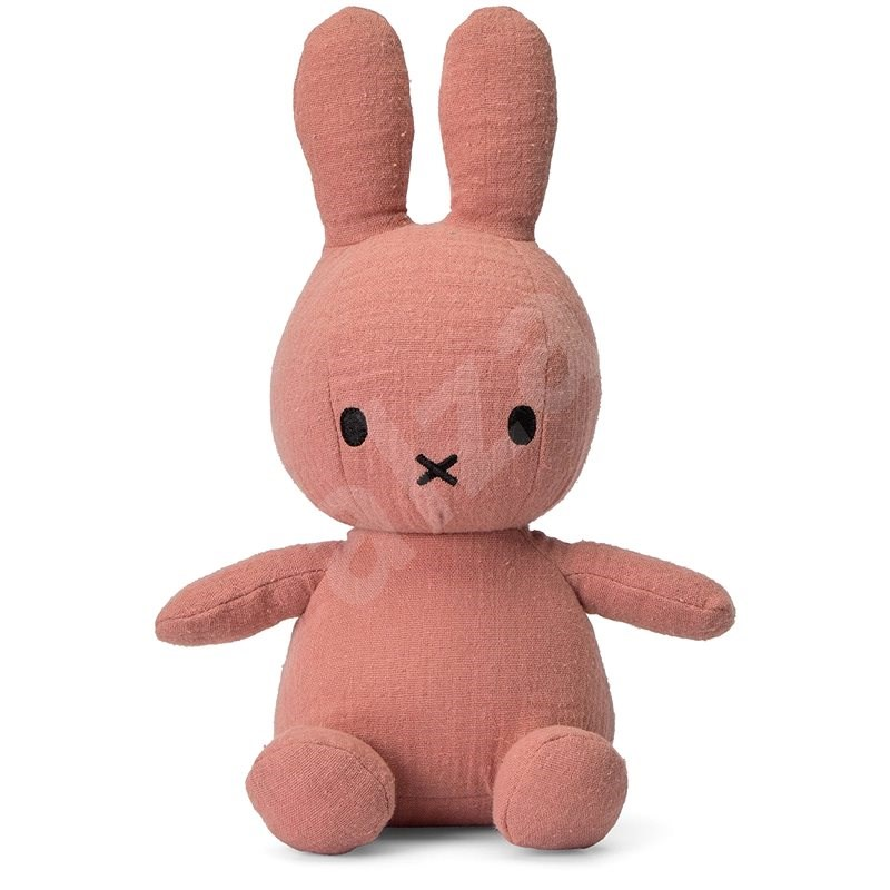 Miffy Sitting Mousseline Pink 23cm - Plyšák