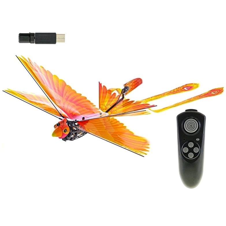 R/C Go Go Bird létající 18cm, na baterie s USB, 2,4GHz - RC model