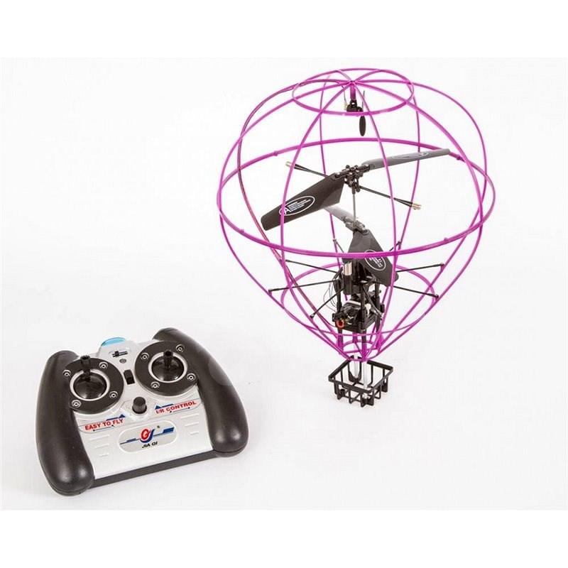 Knight létající balón fialový - Vrtulník na dálkové ovládání