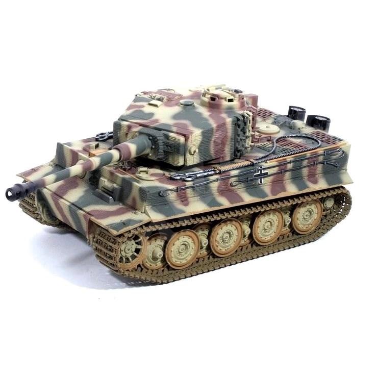 Tank TIGER I IR 1:16 pozdní verze - Tank na dálkové ovládání