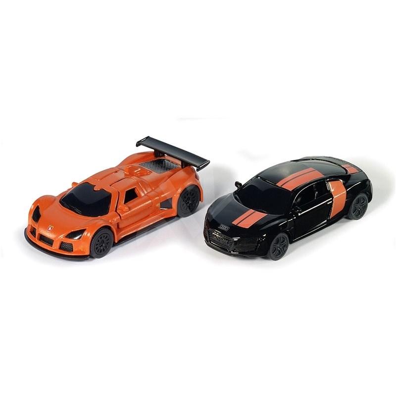Siku černo & oranžová Special Edition - Kovový model