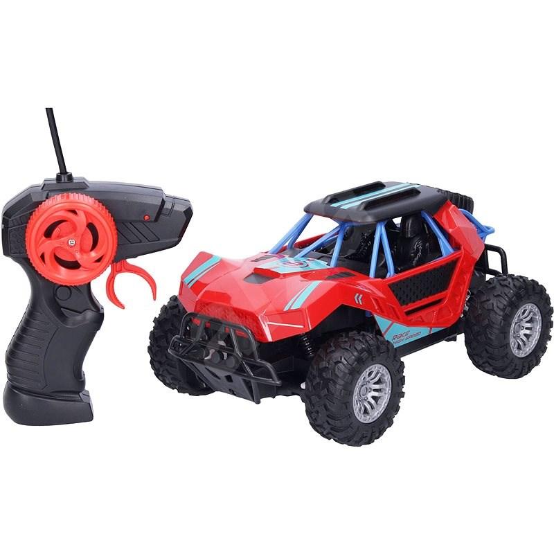 Bugina RC 22 cm - červená barva - RC auto na dálkové ovládání
