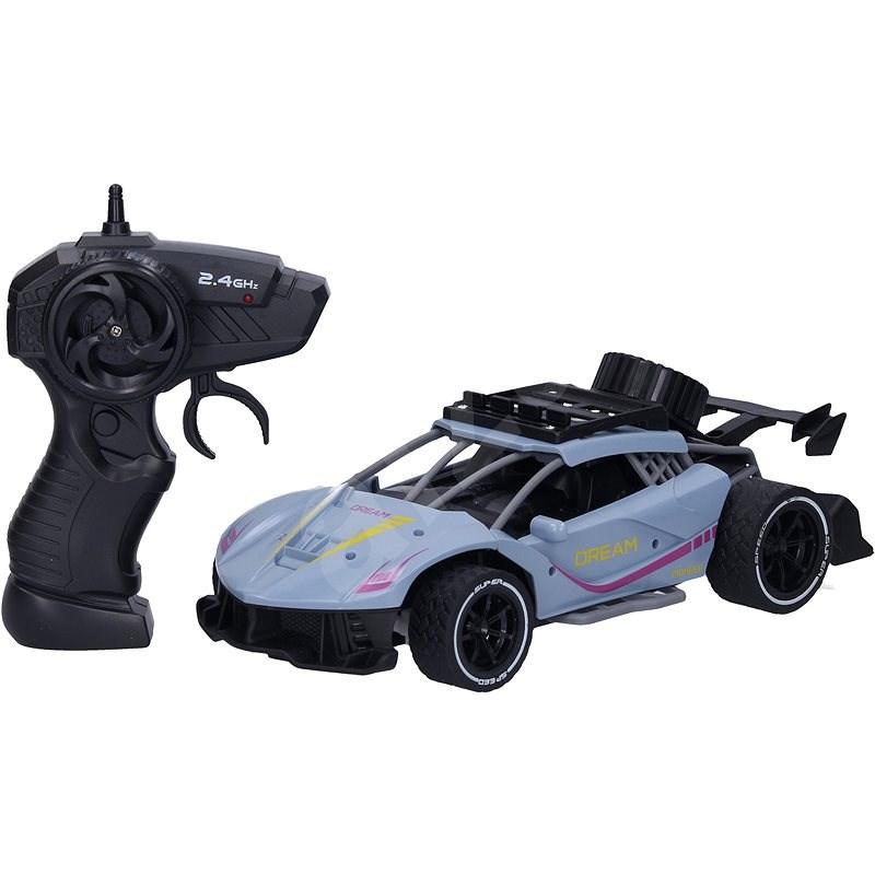 Auto RC 24 cm - modrá barva - RC auto na dálkové ovládání