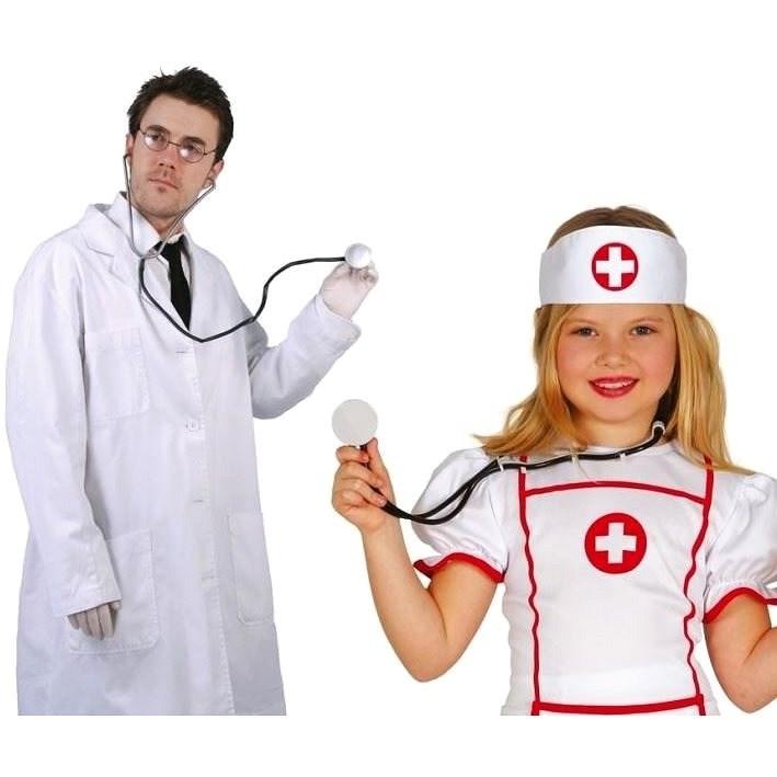 Stetoskop - Fonendoskop Karnevalový - Zdravotní sestra - Doplněk ke kostýmu