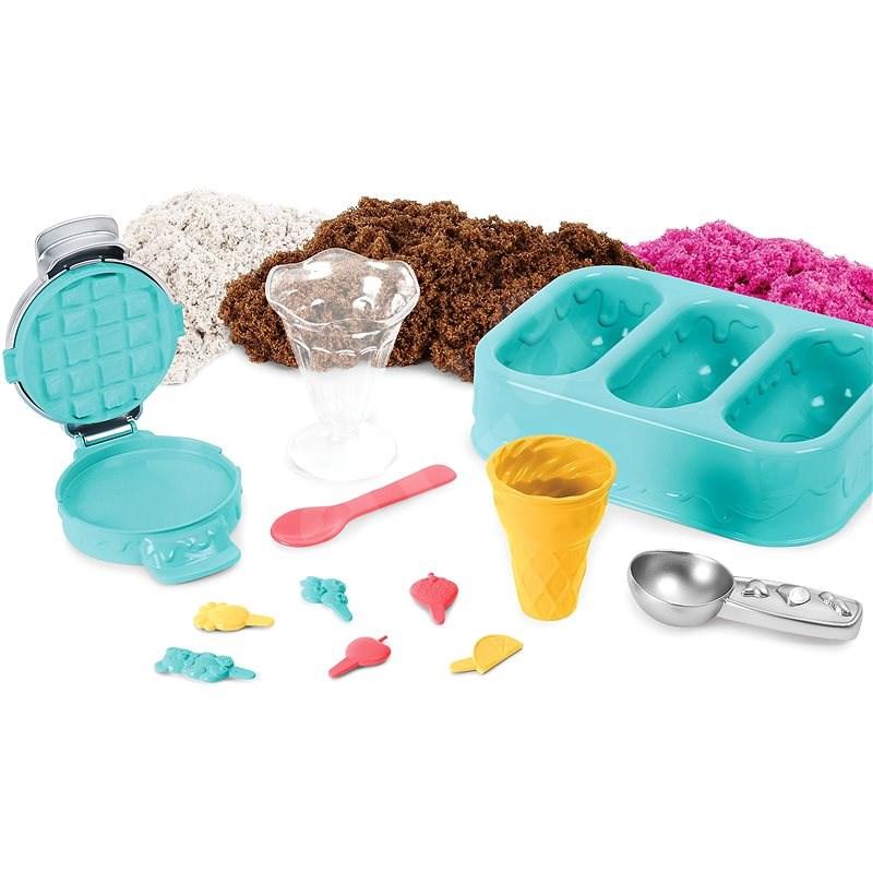 Kinetic Sand Voňavé Kopečkové Zmrzliny - Kinetický písek