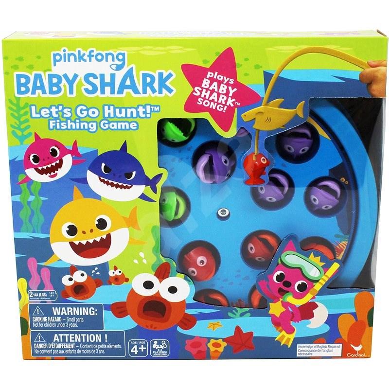 Smg Baby Shark Spol. Hra - Stolní hra