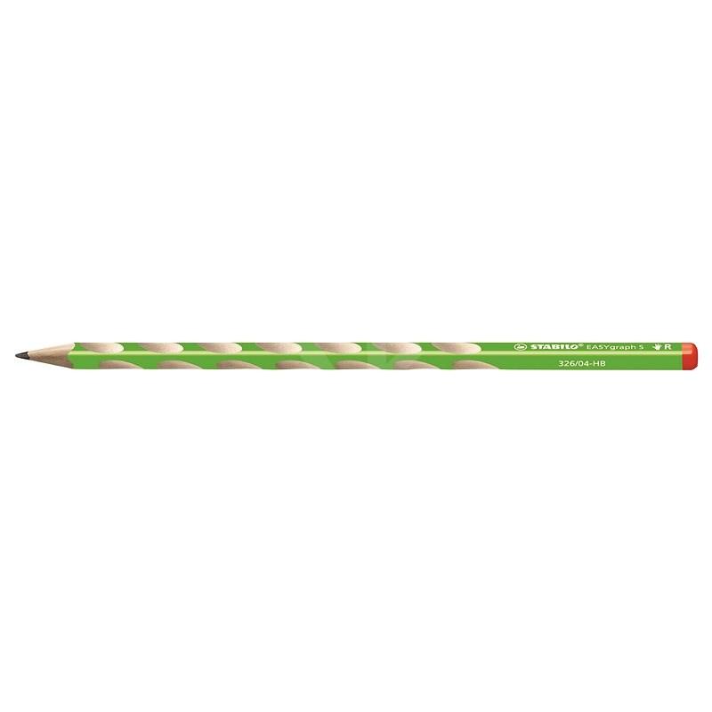 STABILO EASYgraph S  R HB zelená - Grafitová tužka