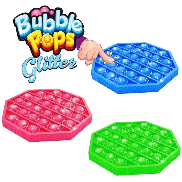 Pop it - s glitry - Společenská hra