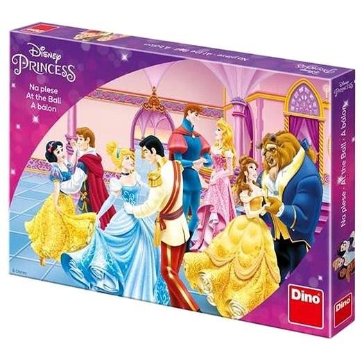 Dino princezny na plese v m dětská hra - Stolní hra