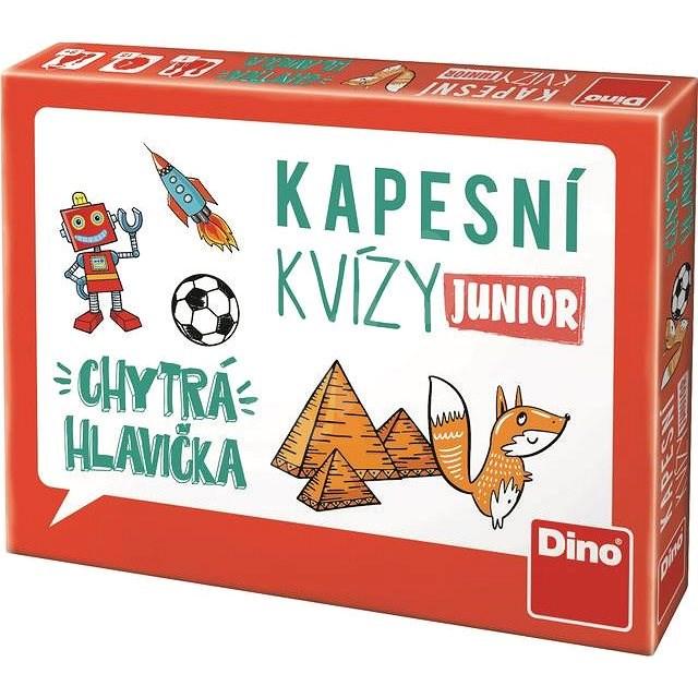 Dino kapesní kvízy junior - chytrá hlavička - Vědomostní hra