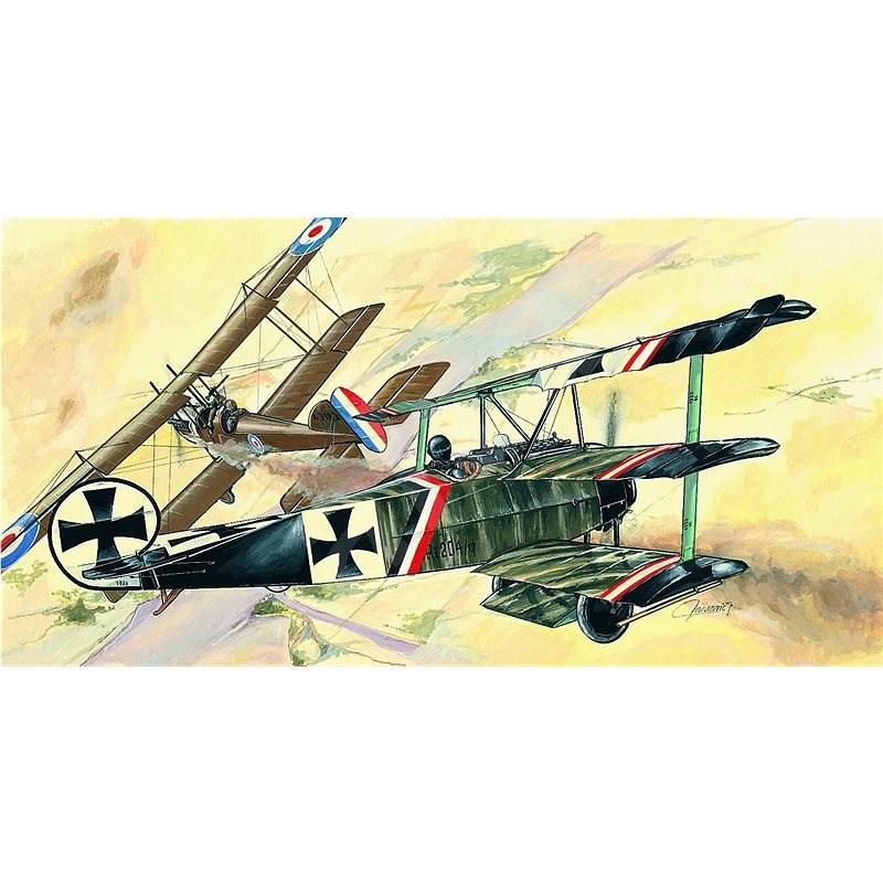 Model Fokker Dr.1 - Model letadla