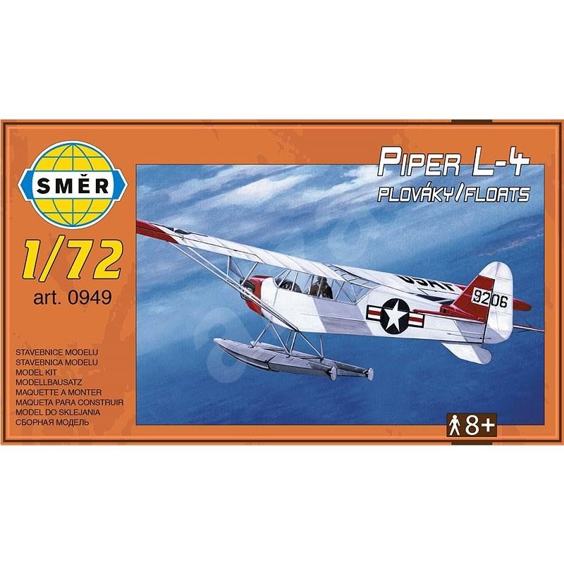 Model Piper L-4 plováky 1:72 - Model letadla