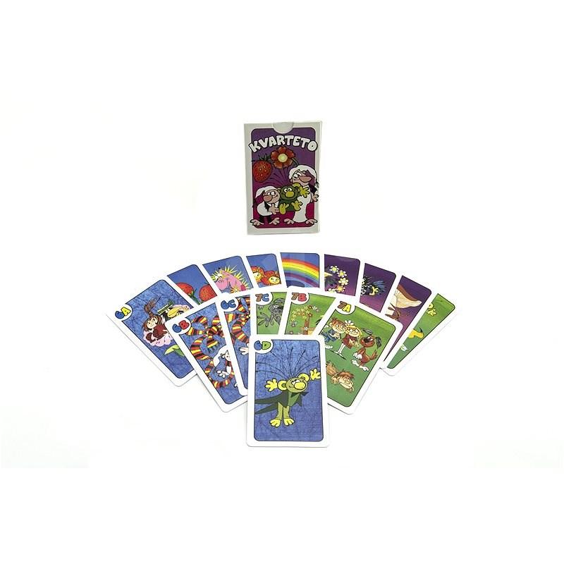 Bonaparte Kvarteto Pojď s námi do pohádky společenská hra - Společenská hra