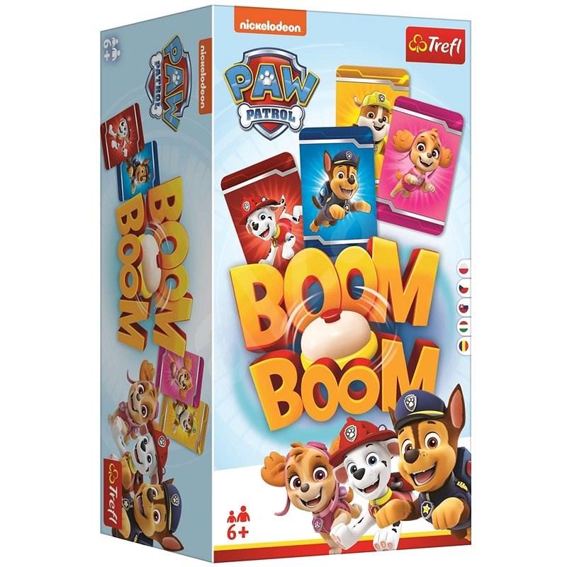 Trefl Boom Boom Tlapková patrola/Paw Patrol společenská hra - Společenská hra