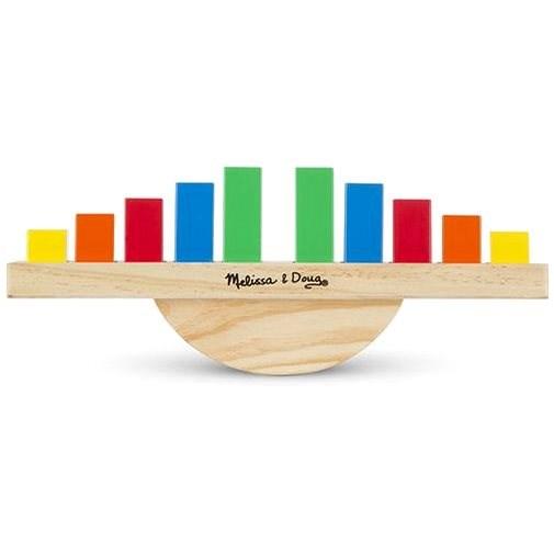 Melissa-Doug Duhová houpačka - Didaktická hračka