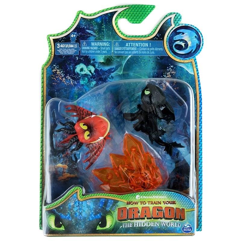 Draci 3 Multi dárkové balení - Bezzubka a červený drak - Figurky