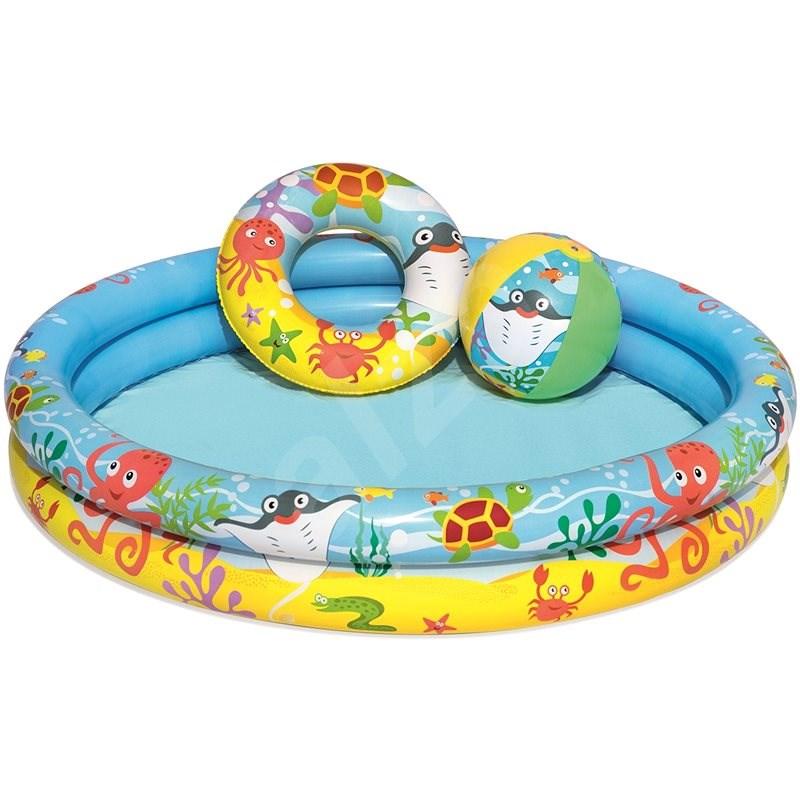 Bestway Bazén s kruhy - Nafukovací bazén