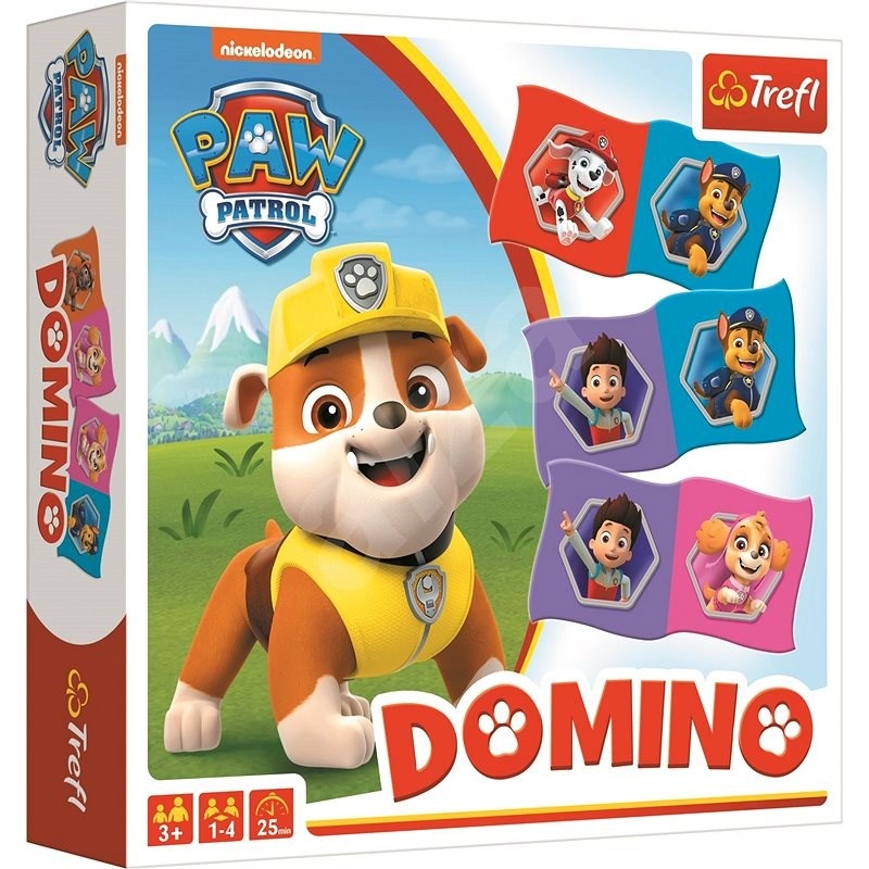 Domino Tlapková patrola  - Společenská hra