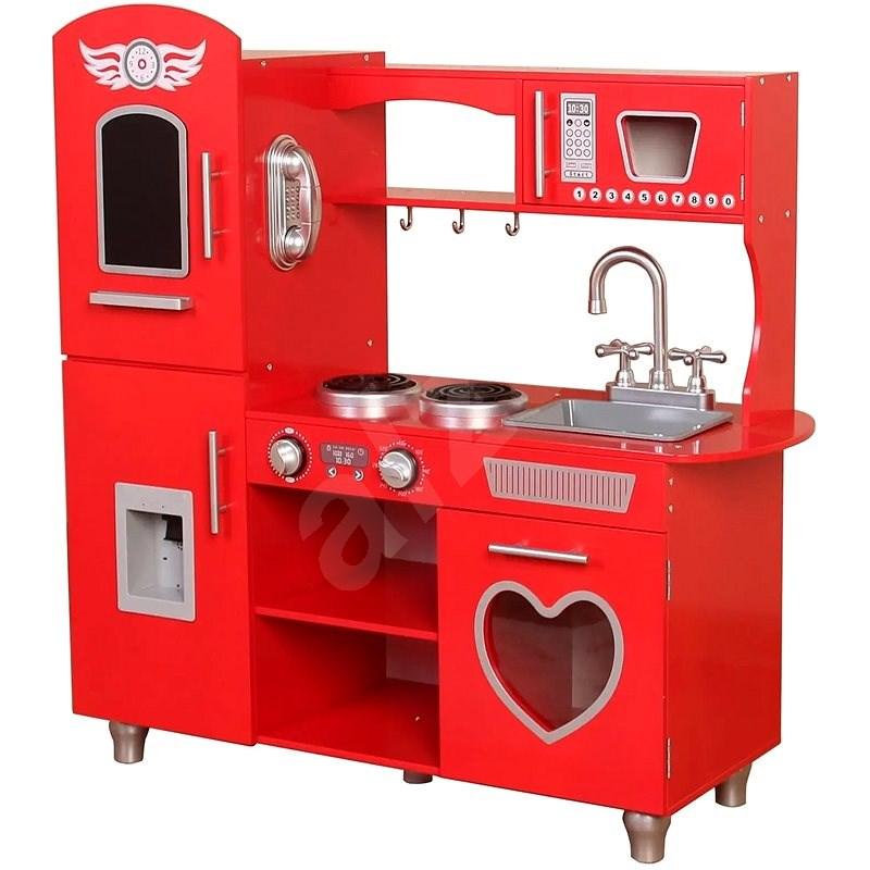 Kuchyňka červená - Kuchyňka