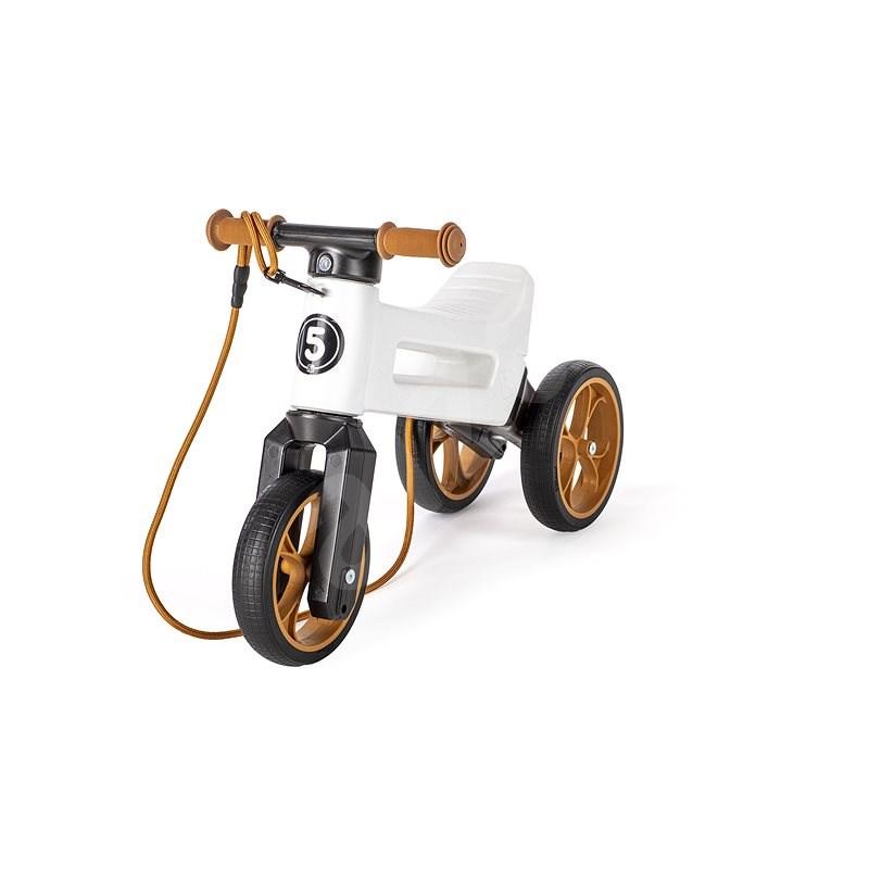Odrážedlo FUNNY WHEELS Rider SuperSport bílé 2v1 - Odrážedlo