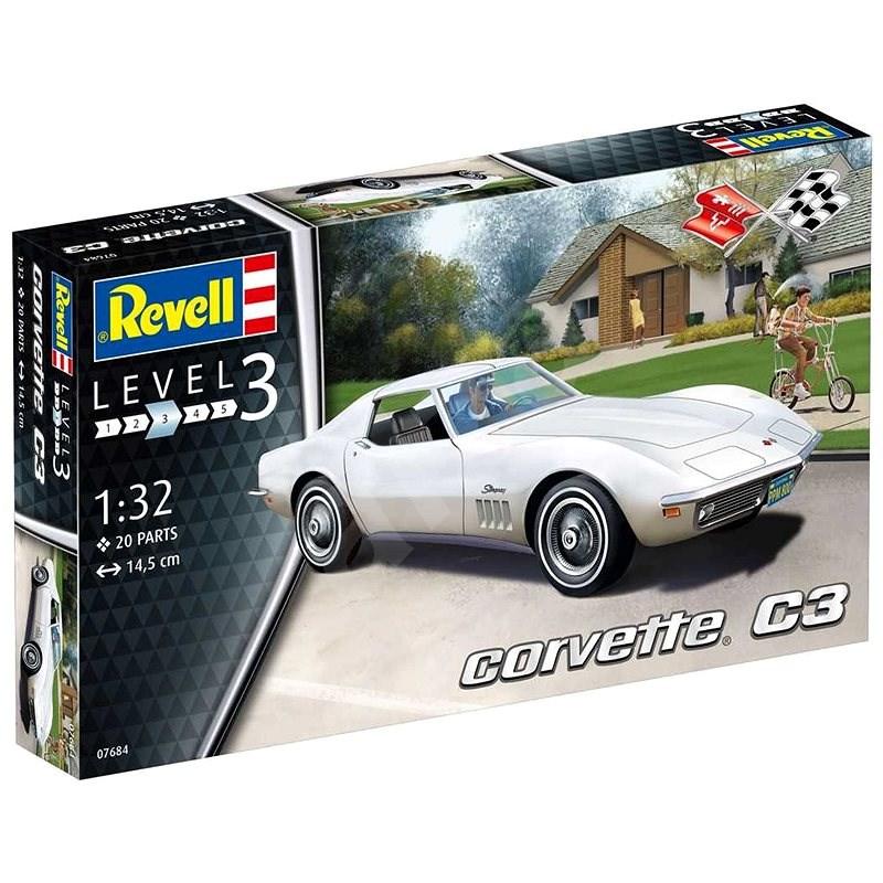 Plastic ModelKit auto 07684 - Corvette C3 - Model auta