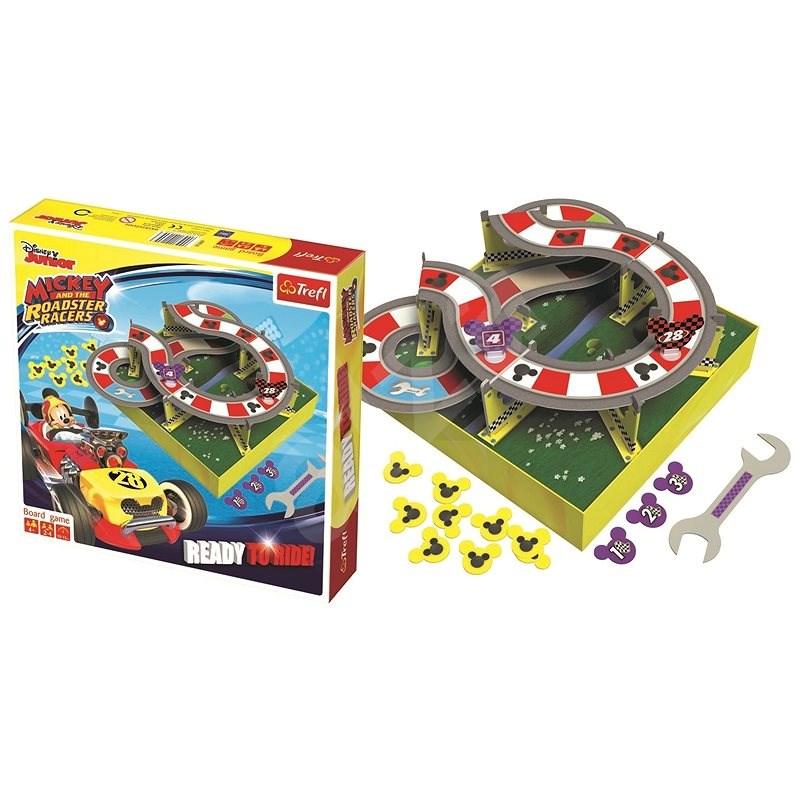 Trefl Mickey a závodníci: Ready to Ride - Společenská hra