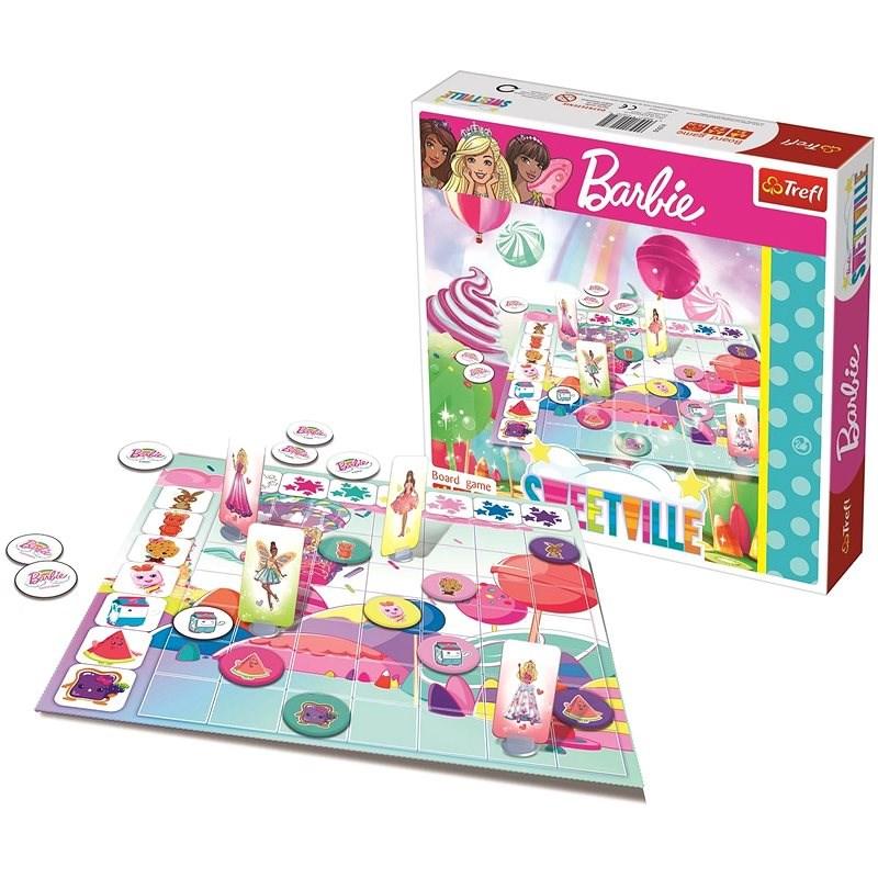 Trefl Barbie: Sweetville - Společenská hra