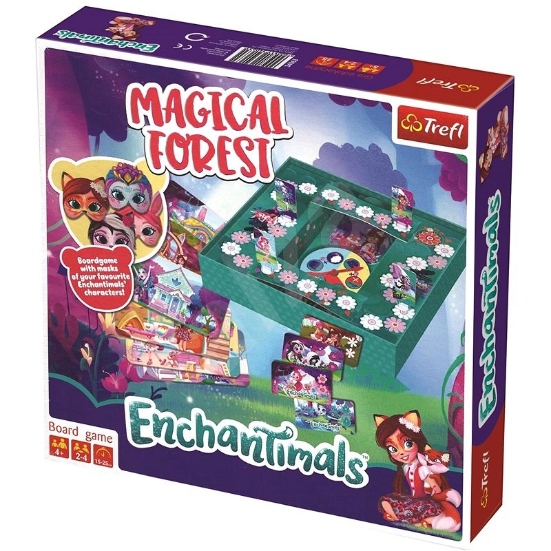 Trefl Enchantimals: Magical Forest - Společenská hra