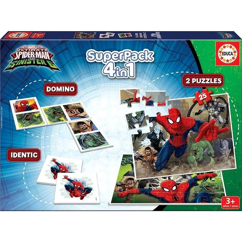 Educa Soubor her Spiderman: Sinister 6, 4v1 - Společenská hra