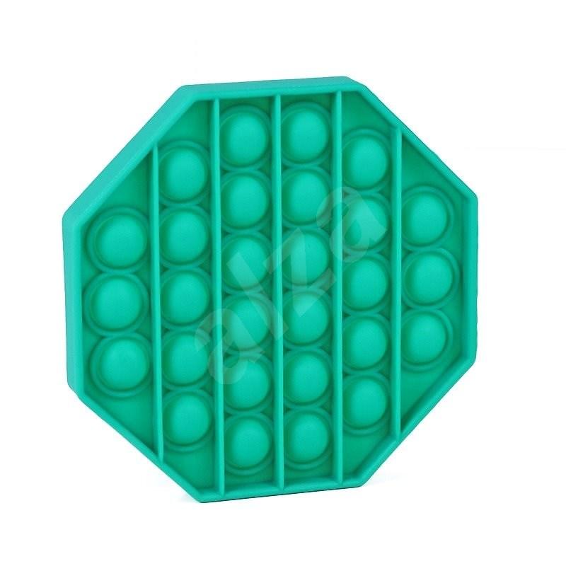 Pop it - osmihran zelený - Společenská hra