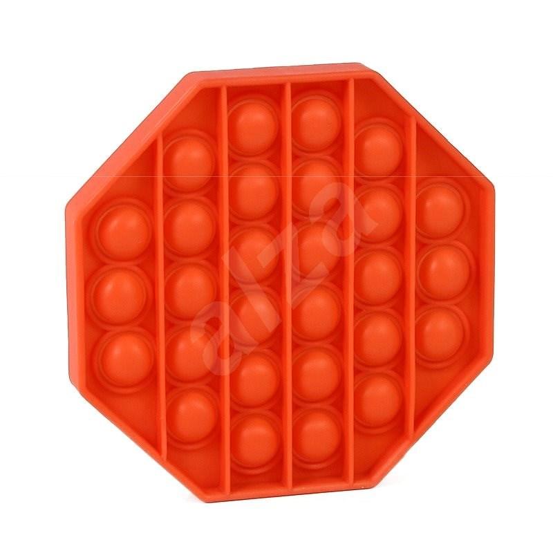 Pop it - osmihran oranžový - Společenská hra