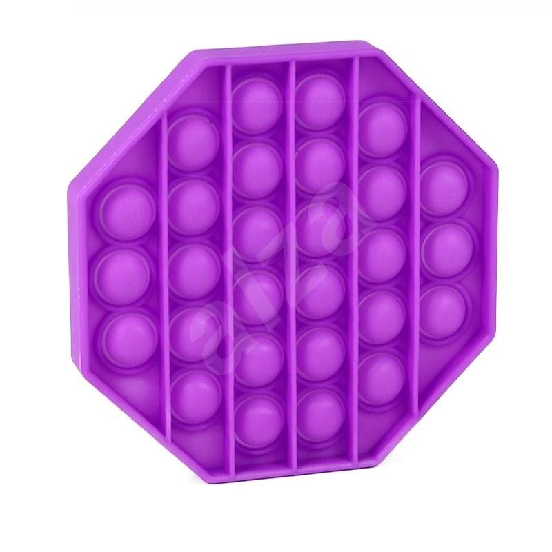 Pop it - osmihran fialový - Společenská hra