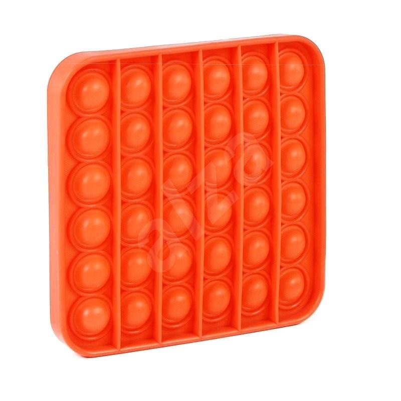 Pop it - čtverec oranžový - Společenská hra
