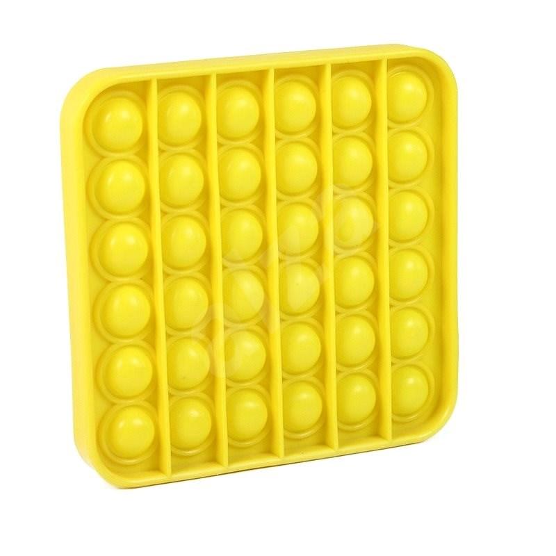Pop it - čtverec žlutý - Společenská hra