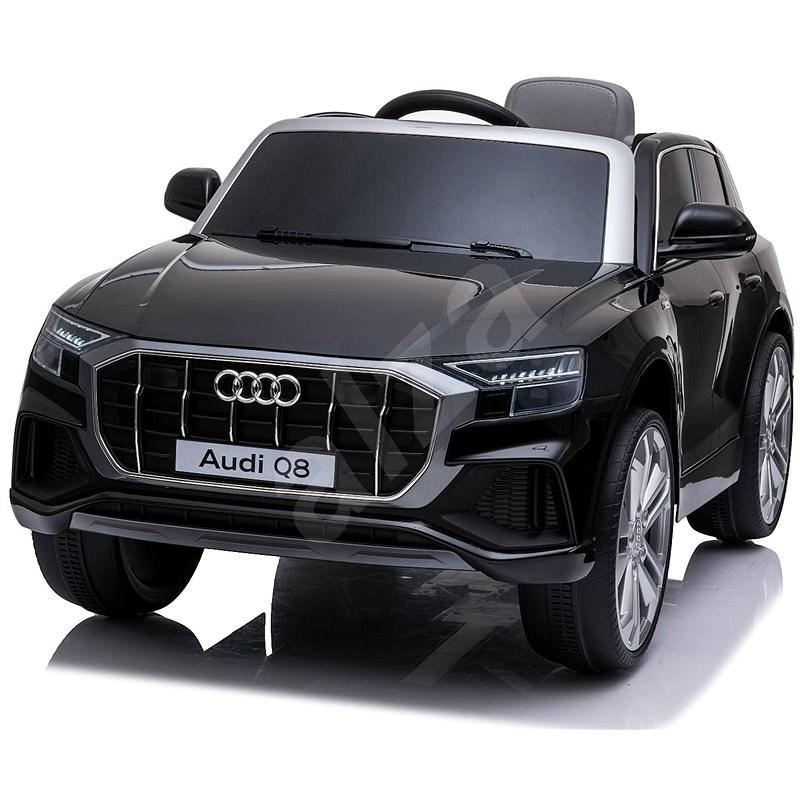 Audi Q8, černé - Dětské elektrické auto