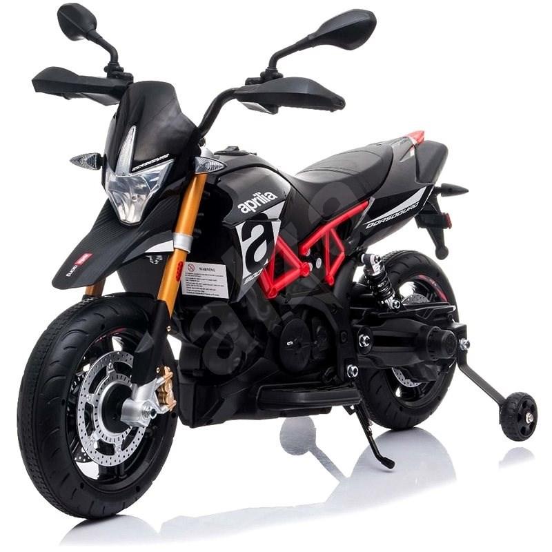 Aprilia Dorsoduro 900, černé - Dětská elektrická motorka