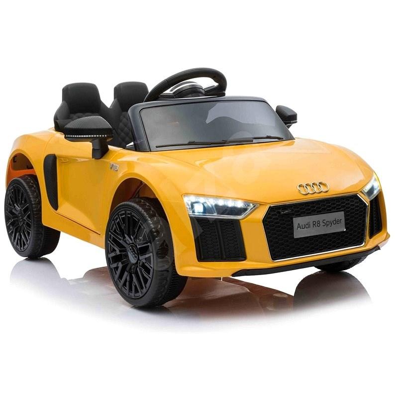 Audi R8 small, žluté - Dětské elektrické auto